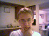 A picture of me, taken from my WebCam.